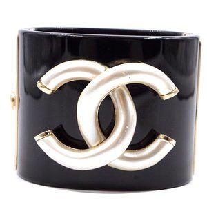 Black Ultra Rare Cc Logo Bracelet